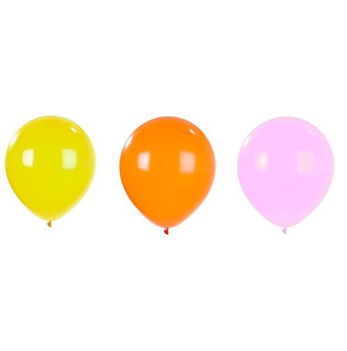 Talking Tables Party Time GIANT Ballon, Kunststoff, pink/orange/gelb, 3Stück