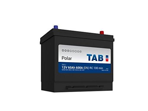 TAB Batterie Voitures Polar S Démarrage S60J D23L 12 V 60AH 500 AMPS (en)