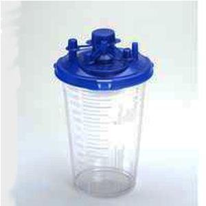 Medi-Vac Suction Canister - 1200cc by Allegiance