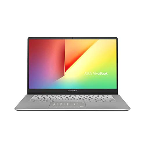 "Asus Vivobook S S430UAN-EB200T PC portable 14"" Gris métalisé (Intel Core i3, 4 Go de RAM, SSD 128 Go, Windows 10 Home S) Clavier AZERTY Français"