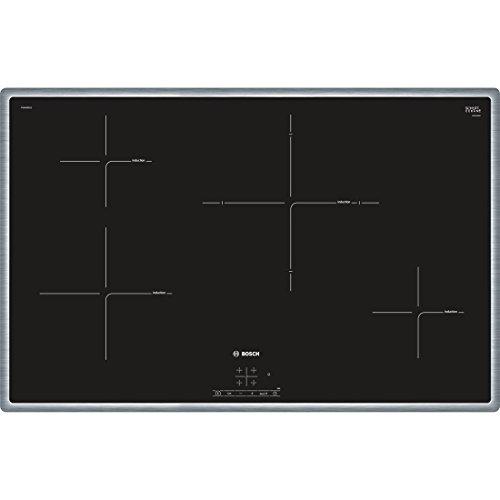 Bosch pie845bb1e Plaque - Plaque (intégré, induction, Verre et Céramique, noir, capteur, toucher, partie supérieure avant)