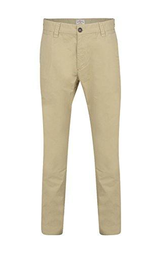 Lee Cooper Herren Straight Leg Hose Gr. 30W x 32L, khaki (Hosen Khaki Lee)