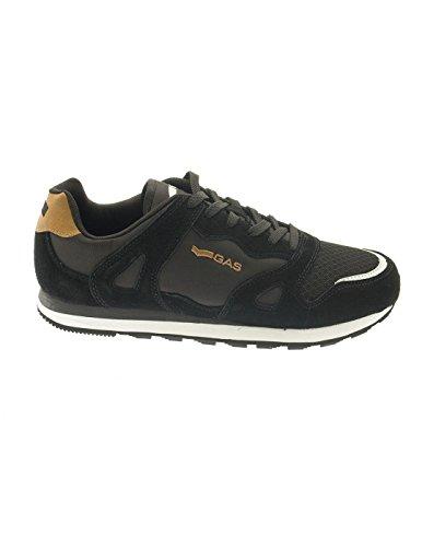 Uomo scarpa sportiva, color Nero , marca GAS, modelo Uomo Scarpa Sportiva GAS ATACAMA Nero