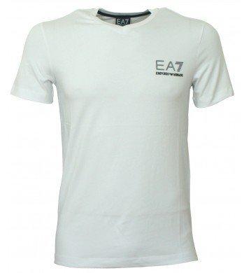 Emporio Armani, da uomo, T-shirt a maniche corte con 273523 4P206, colore: bianco
