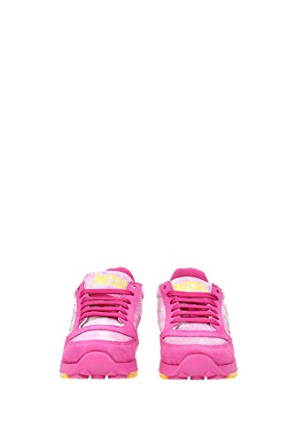 2SD1161FUXIA 2Star Sneakers Femme Chamois Fuchsia Fuchsia