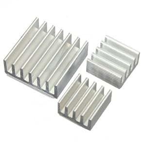 Kit adhésif aluminium dissipateur de chaleur Refroidisseur de Bheema pour le refroidissement Raspberry Pi