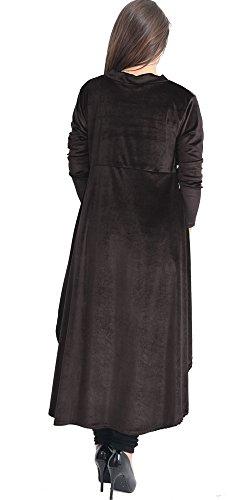 Aramoniat Camicia - Tunica - Polo - Maniche Lunghe - Donna Black