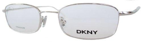 DKNY Donna Karan Herren / Damen Brille, Lesebrille & GRATIS Fall 6610 028 Silber (52-19-140)