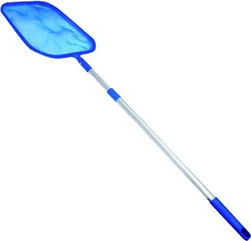 Blu Line SWIMMING POOL NET LEAF SKIMMER WITH TELESCOPIC POLE INTEX POOLS  AND SPAS