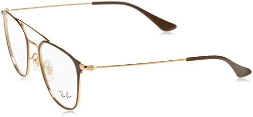 Ray-Ban Unisex-Erwachsene Brillengestelle 6377, Schwarz (Negro), 48