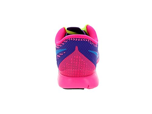 Nike - Free 5.0, pantofole per bambine e ragazze (Mehrfarbig (Hyper/Traube/Pink))