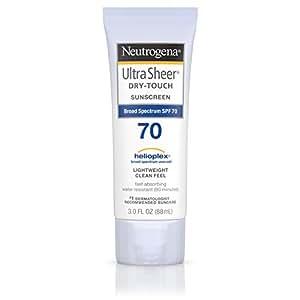 Neutrogena Ultra Sheer Dry-Touch Sunblock SPF-70 for Unisex, 88ml
