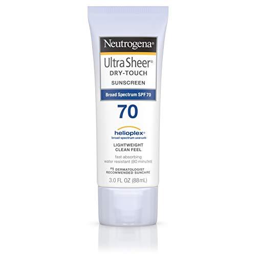 Sunblock Spf 100 (Neutrogena Ultra-Sheer Dry-Touch-Sonnenschutzmittel, SPF 70, 88 ml - Sonnenschutz)