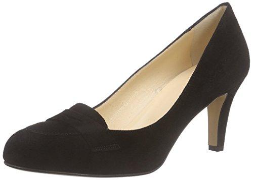 Evita Shoes Damen Pump Pumps, Schwarz (Schwarz 10), 38 EU (Schuhe Italienische Damen)