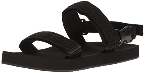 Reef Flip Flops - Reef Convertible Sandals - Black Black