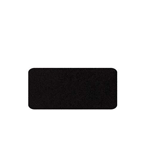 Salonloewe Fußmatte waschbar schwarz 030x060 cm