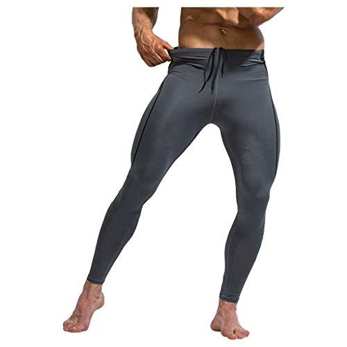 Herren Kompressionshose Camouflage Leggings Tights Lang Hosen für Sport, Training, Fitness, Fitness, Laufen, Radfahren, Yoga, Wandern, Basketball