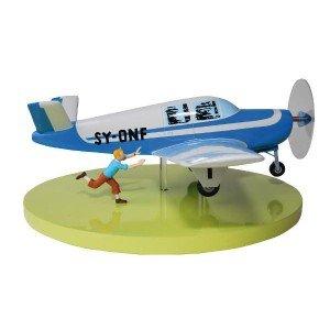 avion-beechcraft-bonanza-moulinsart-herge