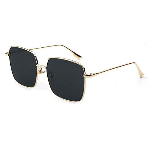 YouYou-YC Sonnenbrillen männlich/weiblich Paar Big Box UV-Schutz Sonnenbrillen Fahren im Freien, Fahren Reisen, ultraleichte Sonnenbrillen (Farbe : Schwarz)