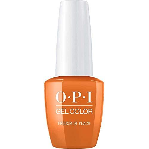 OPI Gel Colour - Freedom of Peach - Washington D.C, 1er Pack (1 x 15 ml) - Miami Peach
