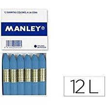 12 unidades Ceras Manley MNQ000412