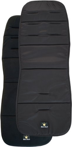 Elodie Details Colchoneta Universal para Silla de Paseo Reversible Acolchado Lavable CosyCushion - Black...