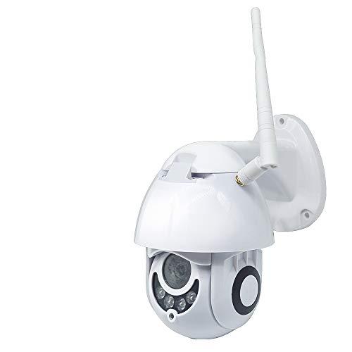 ZMDHL WiFi Webcam, Infrarot-Dome-Kamera WiFi Smart Monitor Zwei-Wege-Sprechanlage Schwenk- / Neige-Steuerung 355-Grad-Drehkamera,32G Wlan-dash-steuerung