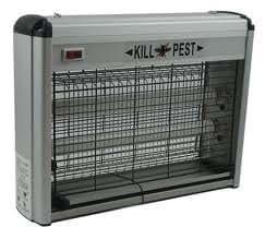 KILL PEST ALUMINIUM ELECTRIC INSECT/BUG FLY KILLER 20 WATTS ZAPPER