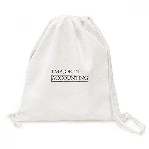 DIYthinker Zitat I Schwerpunkt Rechnungswesen Canvas-Rucksack Reisen Shopping Bags