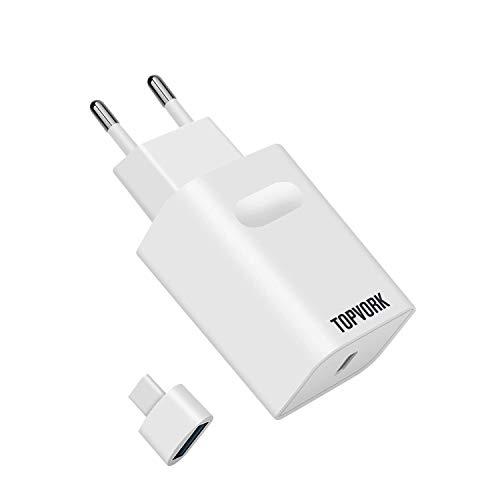 TOPVORK 18W Cargador Rápido USB-C Power Delivery