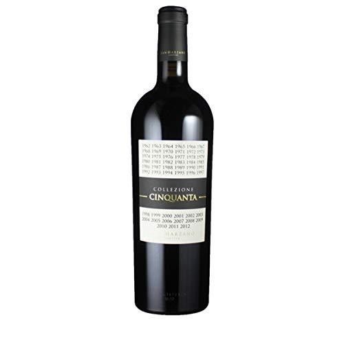 Cantine San Marzano Collezione Cinquanta 50 Vino Rosso d´Italia 0.75 Liter