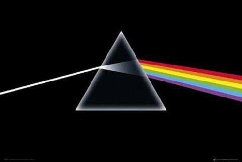 """Empire Merchandising GmbH Consignment - Poster della copertina dell'album """"The Dark Side of The Moon"""" dei Pink Floyd, 91.5 x 61 cm"""