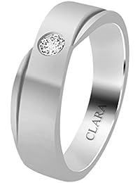 Clara Swarovski The Fermin 92.5 Sterling Silver Designer Ring For Men And Boys