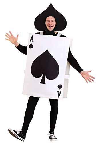 Adult Ace of Spades Fancy Dress Costume (Ace Of Spades Kostüm)