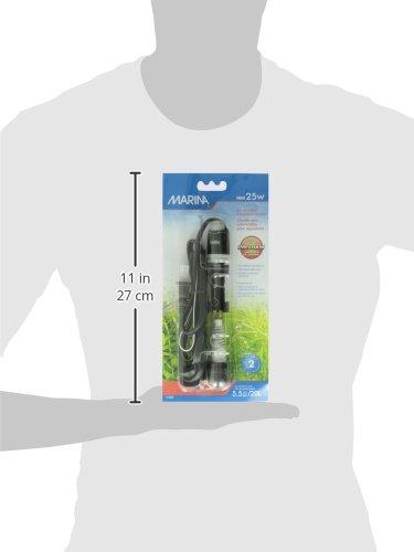 Marina Submersible Pre-Set Mini Heater, 25 W 3