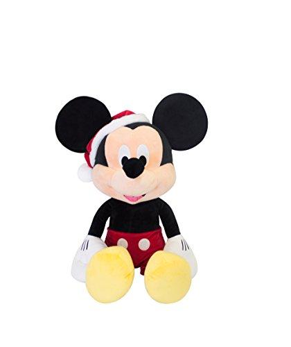 Disney mc32106Plüsch Spielzeug in Christmas Hat, Multi (Maus Mickey Teddy)