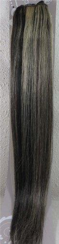 50,8 cm Noir/blond (# 1B/613) trames de cheveux vierges brésiliens Remy – Tissage 100% Cheveux Humains vierges brut