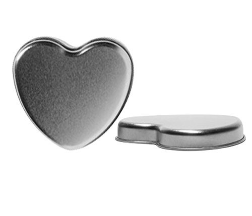 Perfume StudioÃ'® Heart Tin Containers - Use for Party Favors; Fill Them with Mints, Nuts, Candies, Jelly Beans and More. (5) by Perfume Studio - Herb Favor