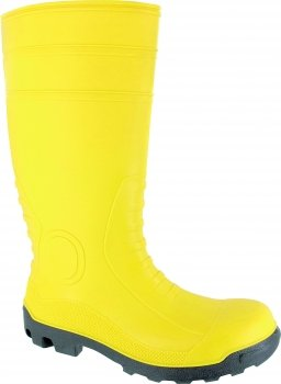 Triuso Safety Boot Bob Nitrile Construction Site PVC Safety Boots Work Boots Rubber Boots Wellies Rubber Shoes Boots