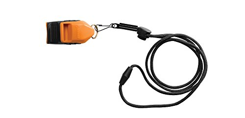 Gerber GE31-002786 Bear Grylls Survival Whistle Trillerpfeife, grau-orange