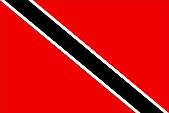 Trinidad und Tobago White Ensign 3Ft Karibik Flagge