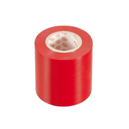 Preisvergleich Produktbild PVC Isolierband Klebeband 10 Meter lang 50 mm breit -rot-
