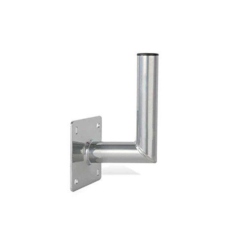 PremiumX 15cm Wandhalter ALU Sat Wand Halter aus Aluminium Wandhalterung Tüv-Geprüft Wandabstand 15 cm (Aluminium-wandhalterung)