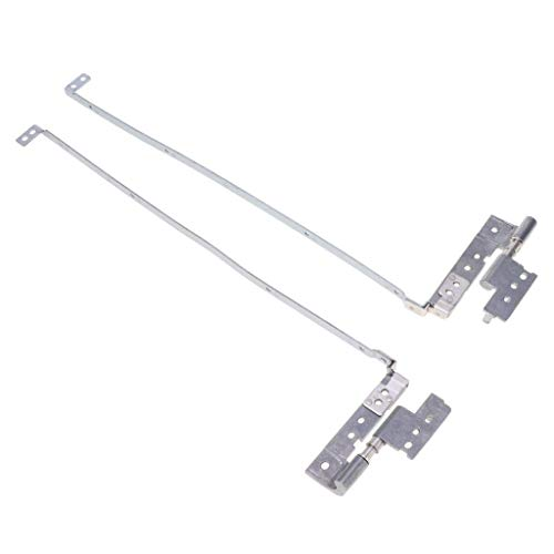 Presario V5000 Lcd (Gobuy Laptop LCD Screen Hinges, Left+Right Replacement Metal Hinges for HP Presario B3800 C300 C500 V5000 G3000 G5000)