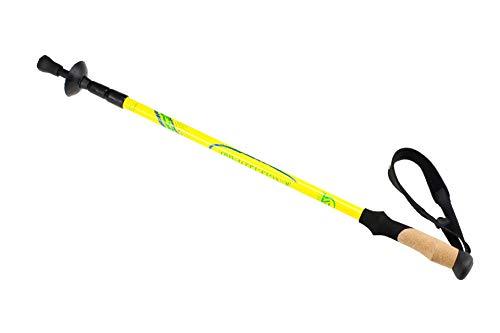 Novopus Trekkingstock: 50% der co2 - Alpenstock, gelb