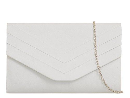 fi9®, Poschette giorno donna multicolore Grey White
