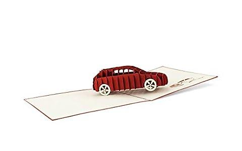 DIESE-KLAPPKARTEN® TECHNOLOGIE - 3D Carte POP-UP | Divers motifs |