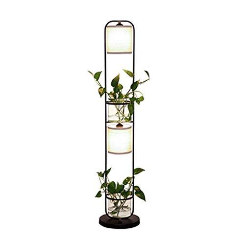 Lampadaire créatif Salon Chambre à coucher chevet Éclairage Usine Canapé Lampe de table verticale Lampadaire