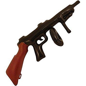Aufblasbare Tommy Gun (Black) [Spielzeug]