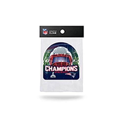 Rico New England Patriots Offizielles NFL 12,7cm Super Bowl 49Champions Form Schnitt Statische Fenster Auto Aufkleber von 871901 -